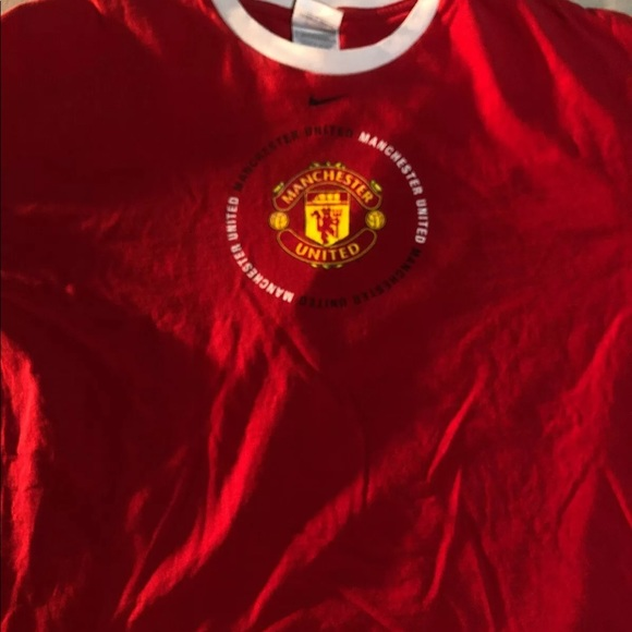 Nike Other - Vintage Nike Manchester United T Shirt Size 2XL